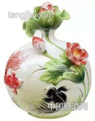 金井福荷花瓷-安徽名酒-亳州市老池酒业