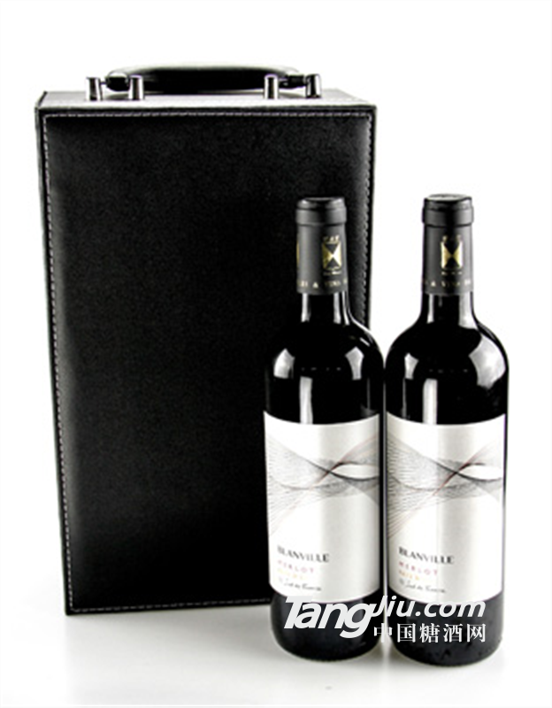 布兰维尔城堡酒庄美乐干红葡萄酒