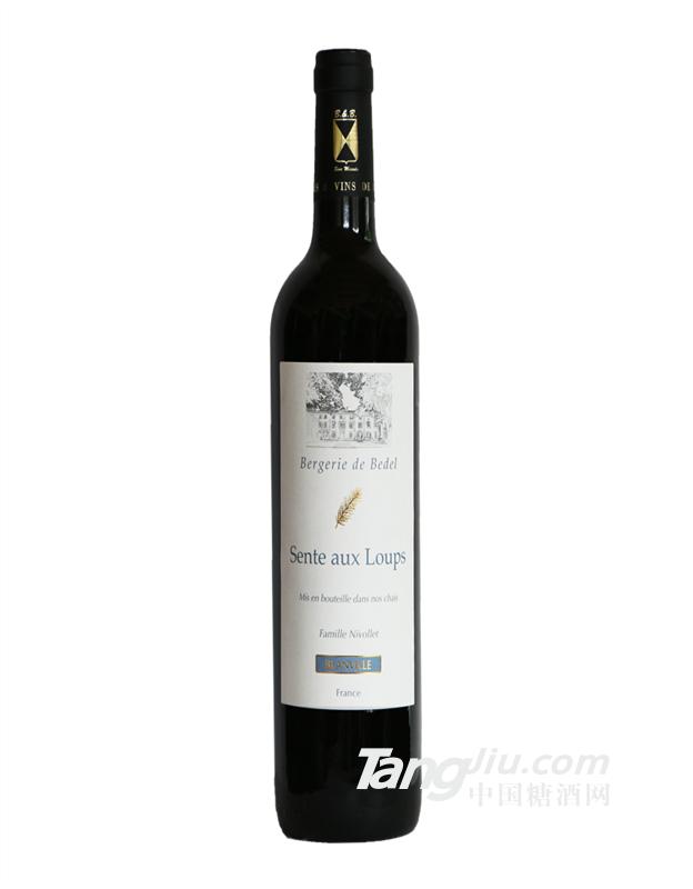 法国富硒干红葡萄酒猎狼系列 布兰维尔城堡酒庄原瓶原装进口红酒