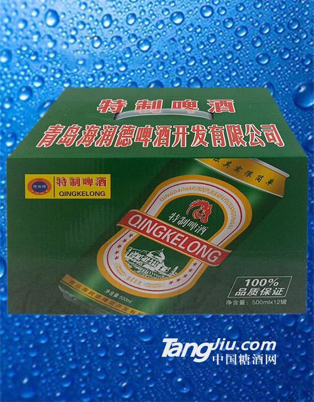青客隆特制啤酒 500mlx12箱装