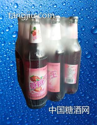 草莓味碳酸饮料