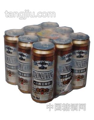 小麦王啤酒塑包易拉罐