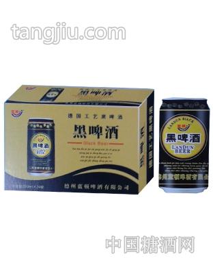黑啤酒(黄)320mlx24罐