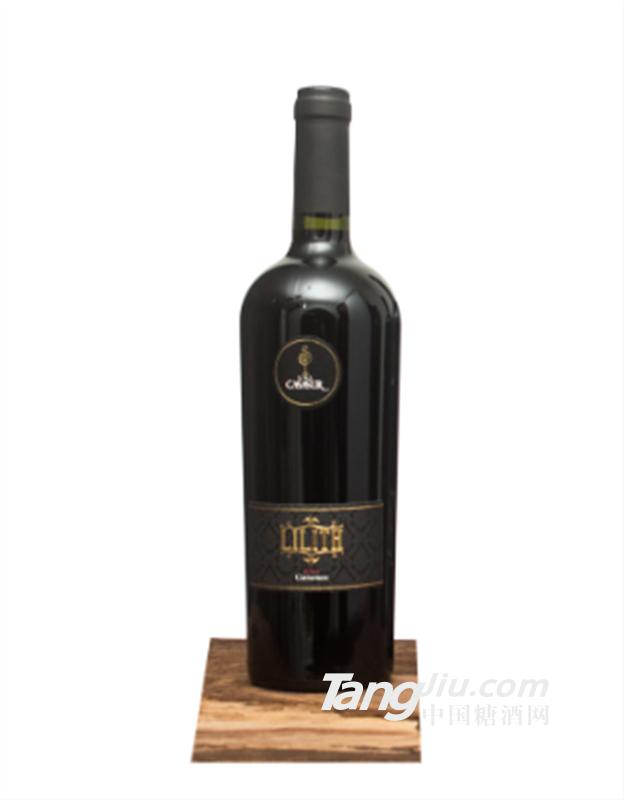 智利原装进口红酒 莉莉丝·卡梅内尔珍藏750ML