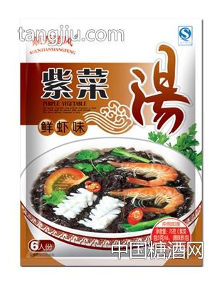 顺天翔风紫菜汤鲜虾味