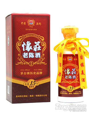怀庄老陈酒15年