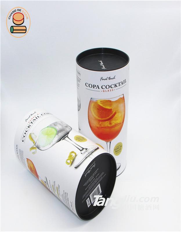厂家全国供应玻璃杯包装纸盒圆形纸盒定制