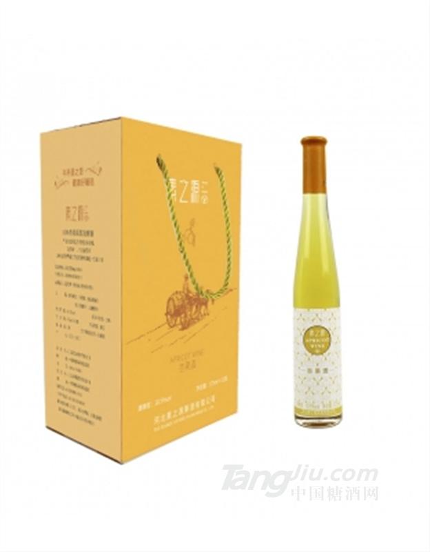 素之源 新品杏果酒低度99%杏果原浆发酵375ml*12整箱