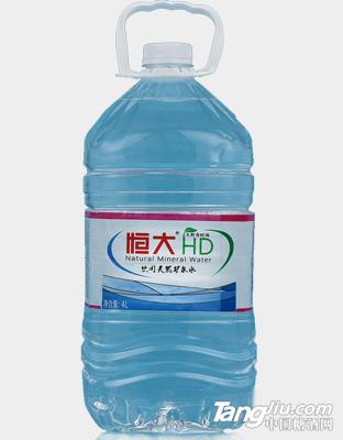 饮用天然矿泉水4l