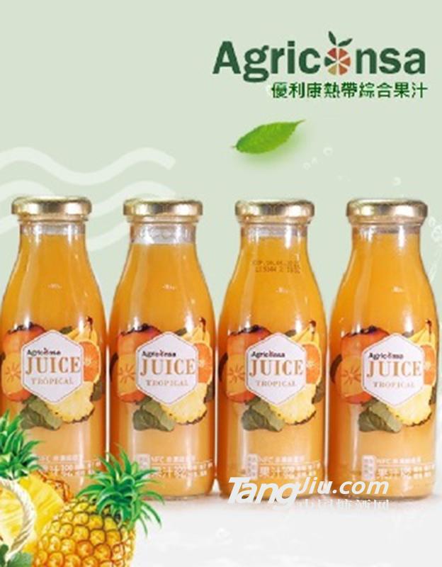 优利康 NFC热带综合果汁 250ml