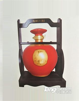 原味原浆-5斤装坛子酒(红)