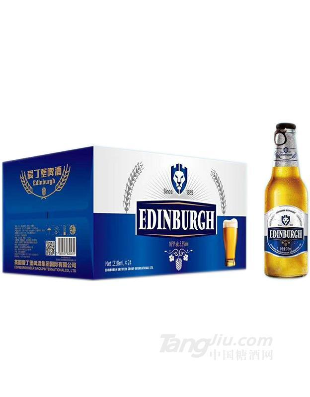10°爱丁堡拉盖白瓶218mLx24瓶