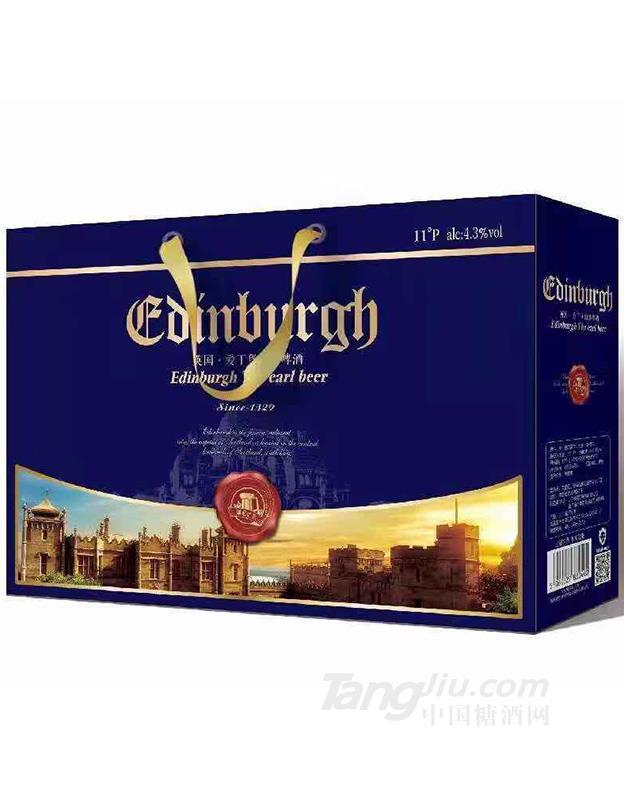爱丁堡蓝啤酒500ml×12