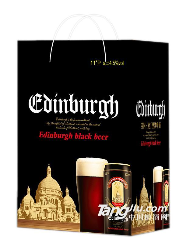 手提袋黑啤500×12