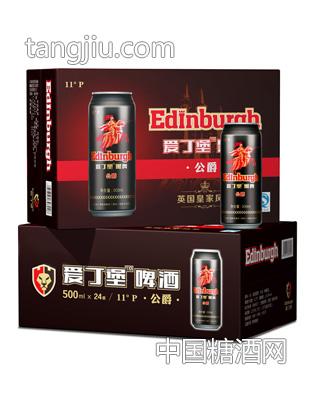 爱丁堡啤酒公爵500ml黑罐效果图