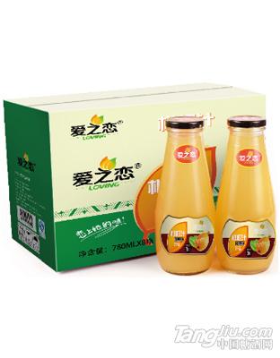 爱之恋枇杷汁780ml