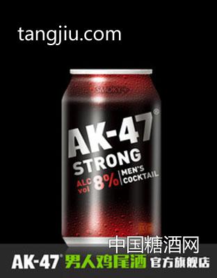 AK47男人鸡尾酒 预调酒330ml 烟熏味 果酒洋酒