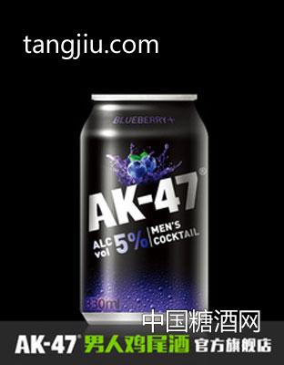 AK47男人鸡尾酒 预调酒330ml 蓝莓味 果酒洋酒