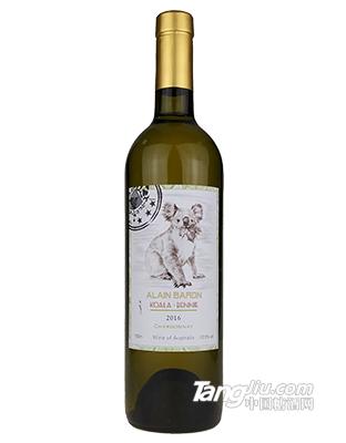 艾隆堡澳洲考拉莎当妮白葡萄酒