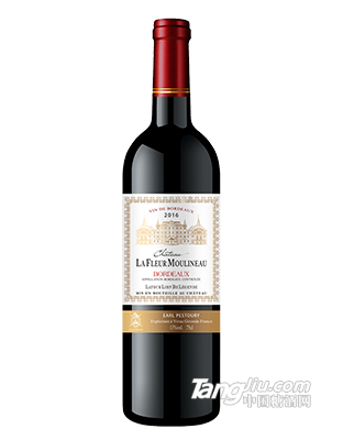 木理诺花酒堡拉图雄狮传奇干红葡萄酒