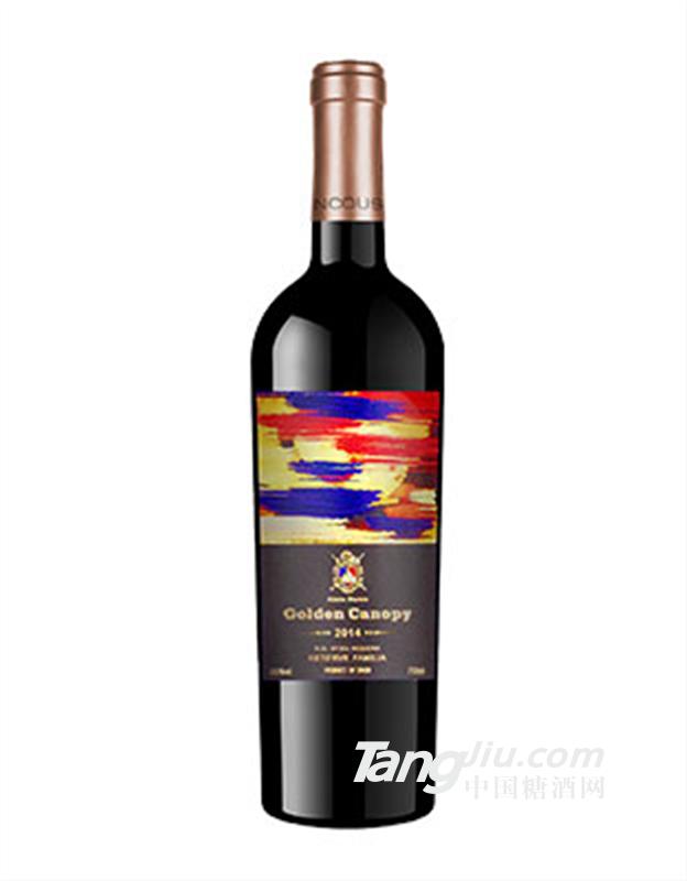 金斗篷添普兰尼洛西拉干红葡萄酒