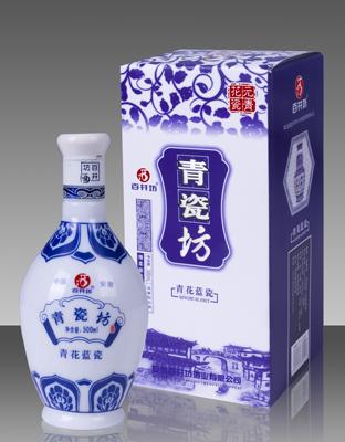 百井坊蓝瓷-白酒-安徽百井坊酒业