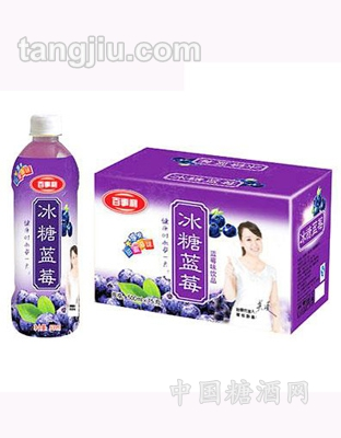 500mlx15瓶百事利冰糖蓝莓