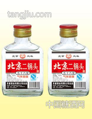 北京二锅头 56度100MLX40瓶 (小白)