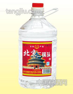 北京二锅头 56度5Lx4 桶装