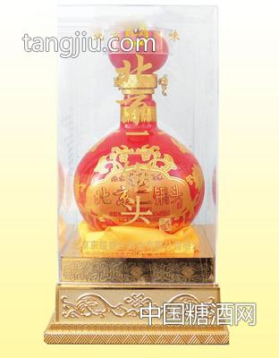 北京二锅头 56度500mLx6 水晶盒