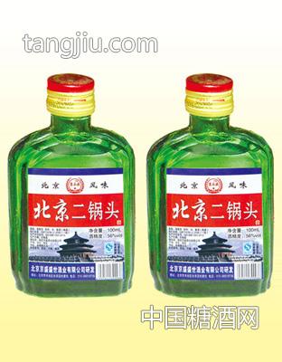 北京二锅头 56度100MLX40瓶 清香型(小绿)
