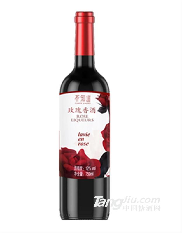 网红产品-玫瑰花红酒-花知道玫瑰香酒