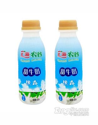 汇源农谷甜牛奶原味380ml