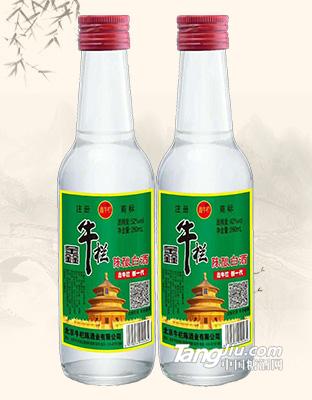鑫牛栏陈酿白酒52°-42°260ml