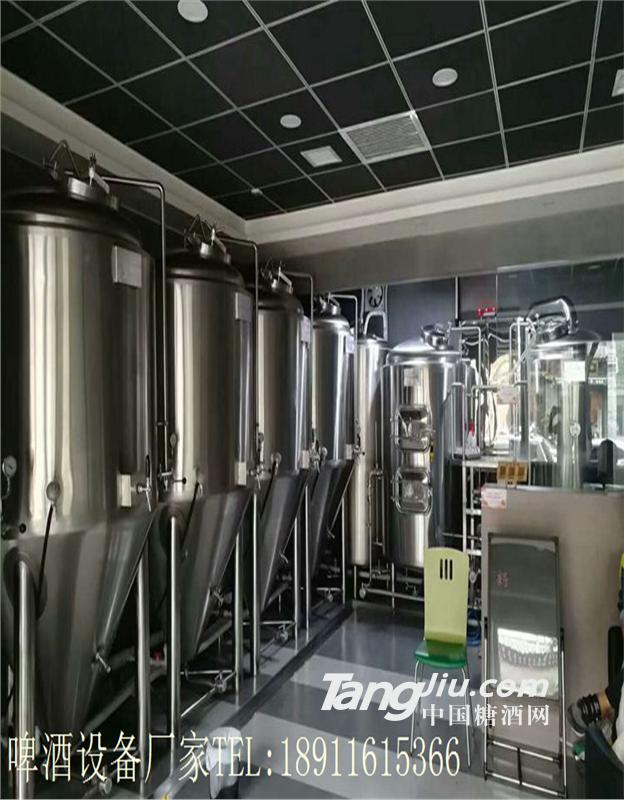 供应江苏小型啤酒厂酿酒设备厂家提供酿酒技术培训