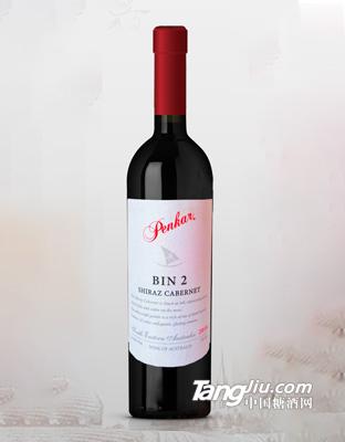 奔卡bin2西拉子红葡萄酒