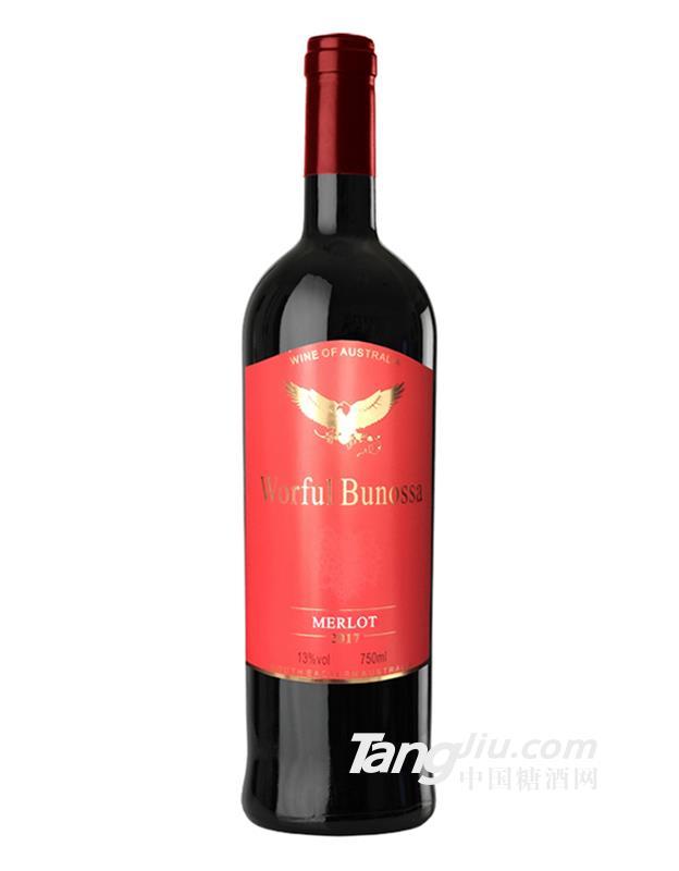 禾富布诺萨谷美露干红葡萄酒