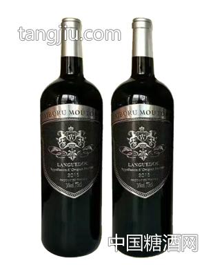 艾伯如木桐堡银标红葡萄酒