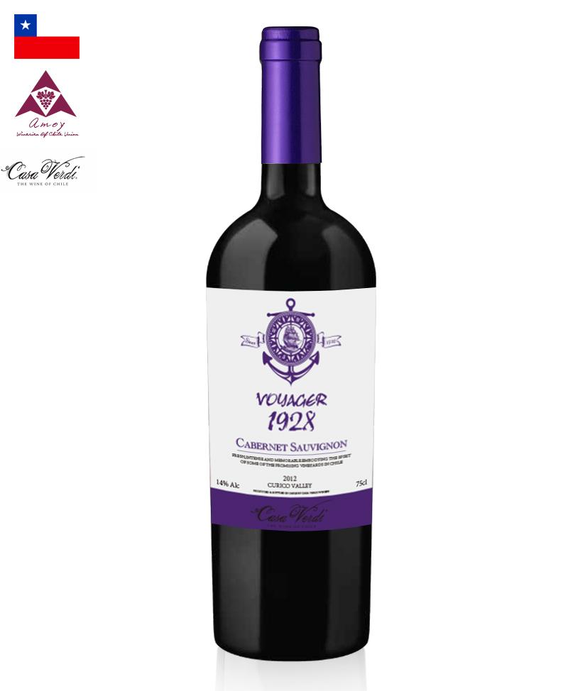 远航者1928梅洛干红葡萄酒