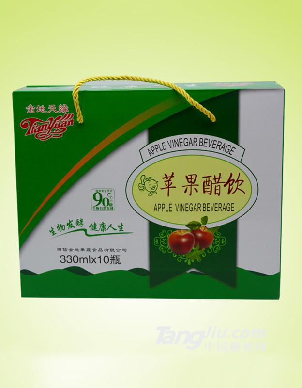 金地天缘-苹果醋饮-330mlx10瓶