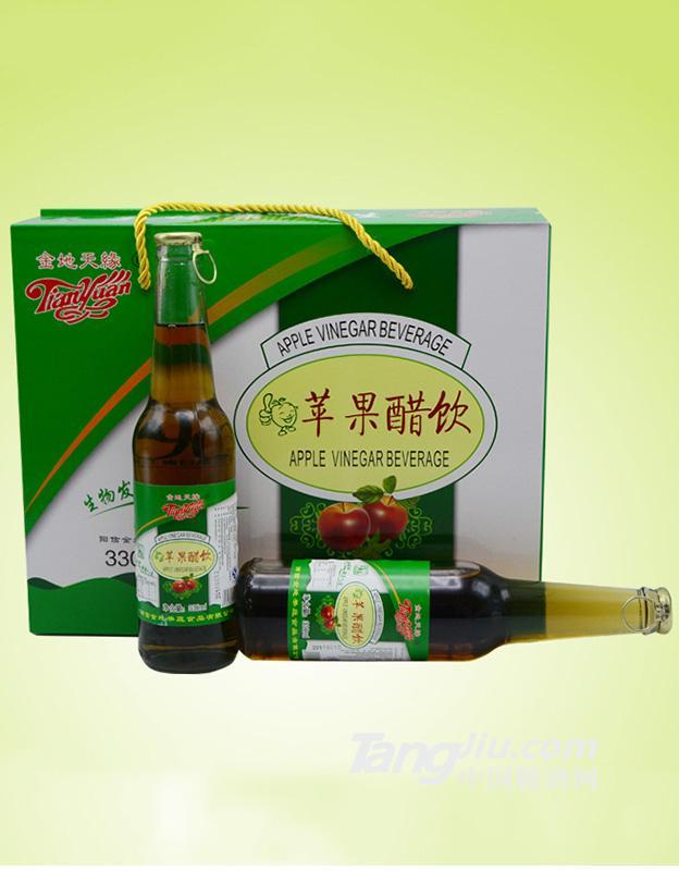 金地天缘-苹果醋饮-330ml