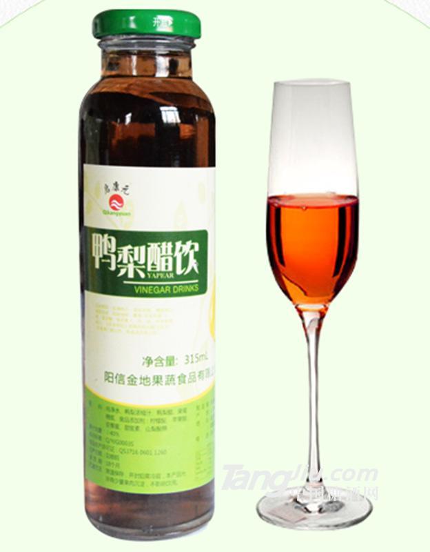 启康元-鸭梨醋饮-315ml