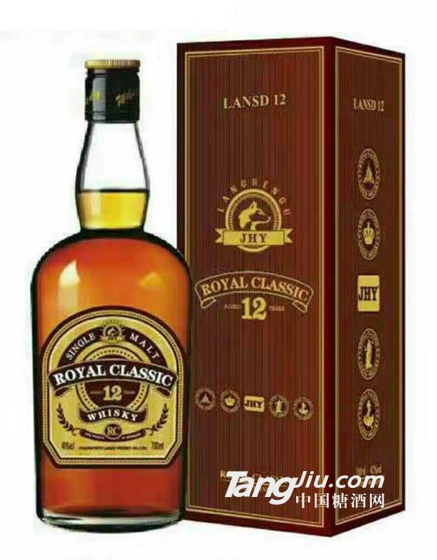 经典12年威士忌40度-700ml