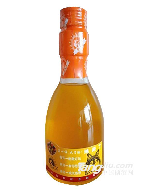 狼来了果汁酒黄瓶