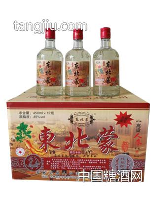 东北蒙 高粱人参酒 45度 450ml