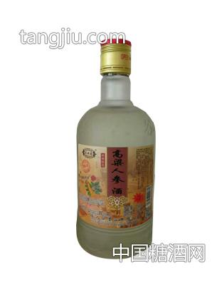 东北蒙高粱人参酒 38度 450ml(黄盖)