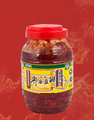 丽通郫县豆瓣(黄标)800g/瓶×12瓶/件