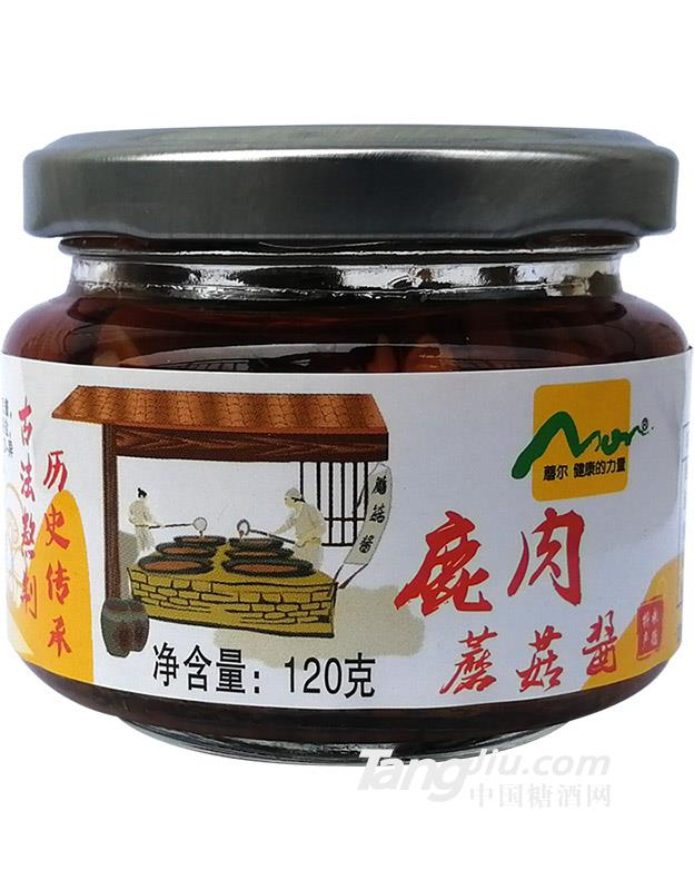 鹿肉蘑菇酱120克