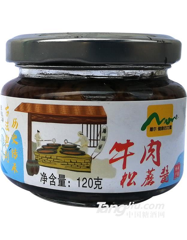 牛肉松蘑酱120克