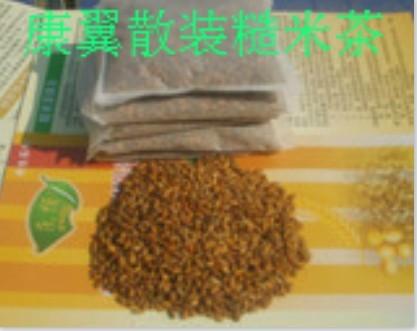 糙米茶的作用与效果
